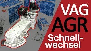 AGR Kühler AGR-Ventil für VW Audi Skoda Seat 03L131512DQ 1.6TDI 2.0TDI