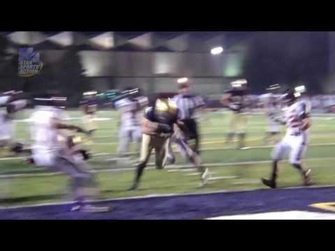 Prep football: Skyline's Riley Sharp scores two touchdowns against Hurricane.
