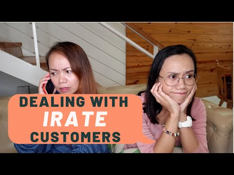 How To Deal With Irate Customers (With Mock Call Sample)