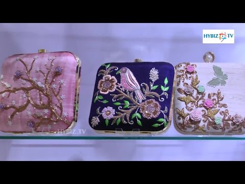 35e078f6d19 Handmade Clutch Bags/Purse | Hand Work Embroidery Designs - hybiz - YouTube