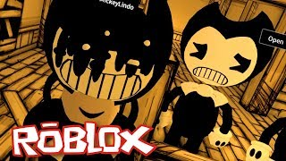 ROBLOX #03 - BENDY AND THE INK MACHINE!?!?
