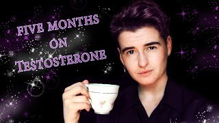 5 MONTHS ON TESTOSTERONE! || FTM