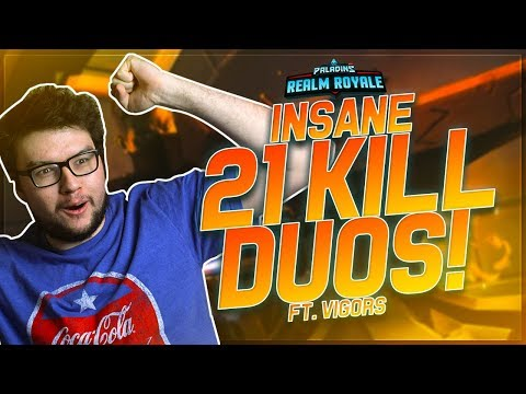DYRUS | INSANE 21 KILLS DUO GAME!!! ft. Vigor