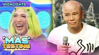 Wacky Kiray tells Vice Ganda that he is his child | It's Showtime Mas Testing