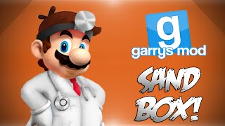 GMod Sandbox! - Dr. Mario's Hospital, Explosive Treatment, Sausage Fight & More! (Funny Moments)