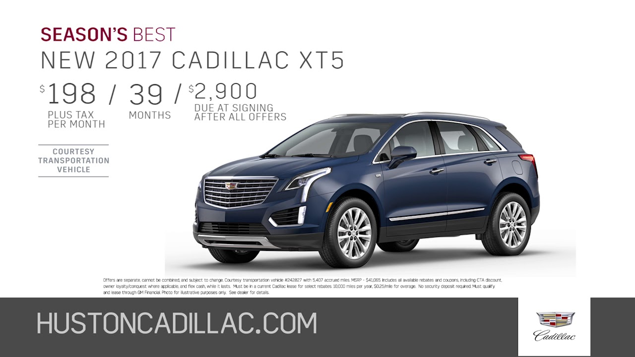 Season S Best Offers On The New 2017 Cadillac Xt5 At Huston Youtube