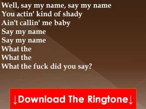 Sick Puppies - Say My Name Lyrics