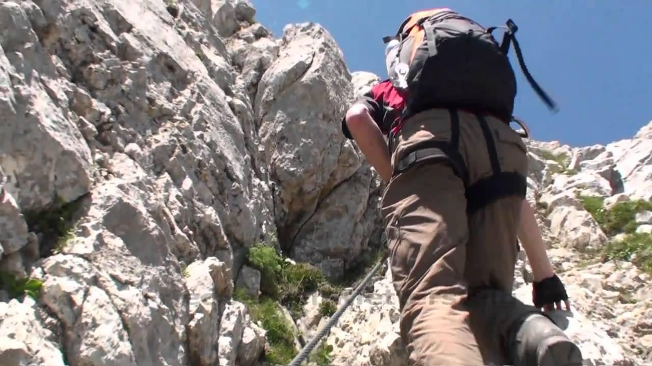 Klettersteig Tannheimer Tal : Tannheimer tal friedberger klettersteig youtube