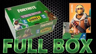 Panini FORTNITE TRADING CARDS SERIE 1 FULL DISPLAY BOX | Unboxing