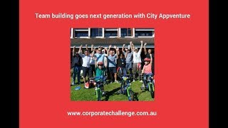 Team building goes next generation with City Appventure