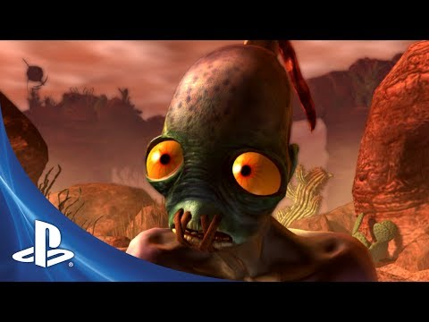 Oddworld: New 'n Tasty trailer introduces our hero