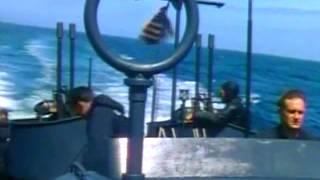 PT Boats in Crash Dive