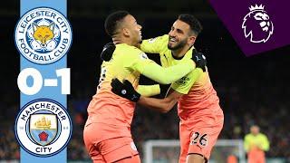 Highlights | Leicester 0-1 Man City | Gabriel Jesus