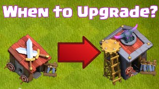 Clash Of Clans When To Upgrade Your Barracks | When To Unlock New Troops
