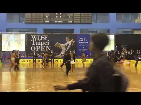 WDSF Taipei Open台北國際公開賽2017 .10.22  鬥牛舞