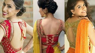 most beautifull blouse designs(must watch)/saree blouse designs 2018/latest blousse designs