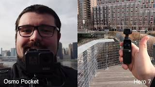 1080p - DJI Osmo Pocket vs GoPro Hero 7 Black - Both are GREAT?