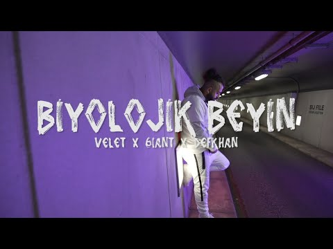 Velet x 6iant x Defkhan - Biyolojik Beyin (Official Video)