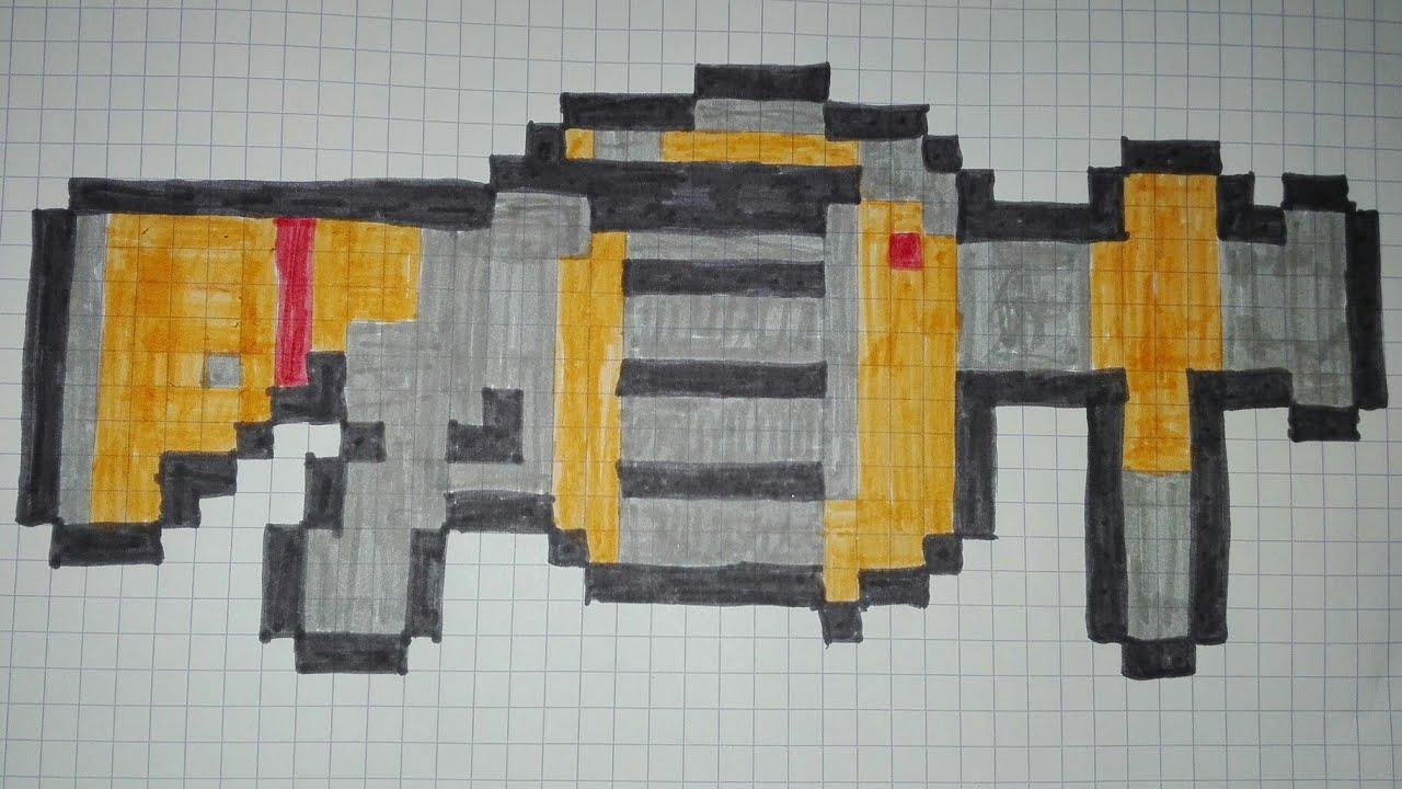 pixel art lance grenade fortnite - fortnite pixel art arme