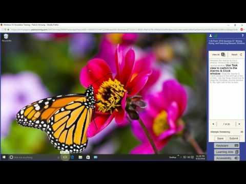 Windows 10 Simulation Training - MyITLab