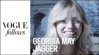 Georgia May Jagger : What