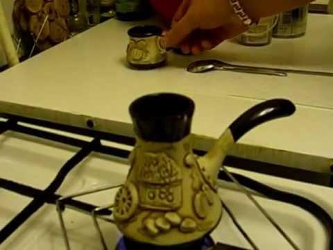 Как варить кофе в турке ( наш вариант) Kaffee Espresso