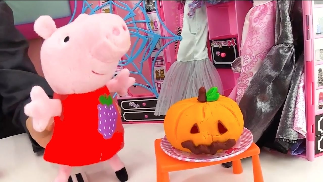 Mummy Peppa Pig Fancy Dress Party Halloween Costume Videos For Kids Peppa Pig Toys