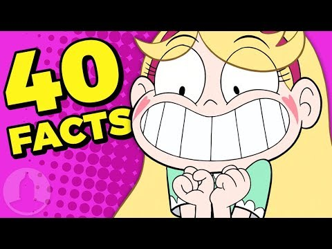 40 Facts About Star Butterfly You Should Know! (Tooned Up S6 E21) | Channel Frederator