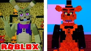 Becoming NEW Glitchtrap and Golden Freddy in Roblox Fazbear's REVAMP