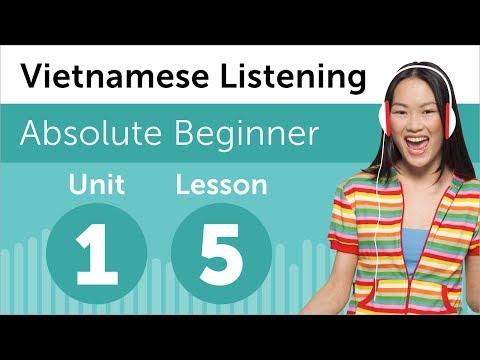 Luyện nghe tiếng Thái - Bài 5 : người nào là con trai anh?