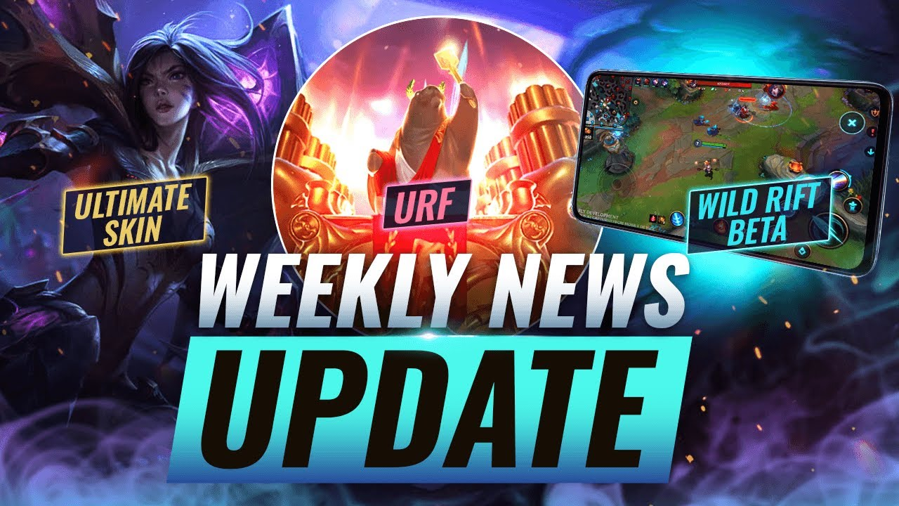 NEW UPDATES: WILD RIFT BETA + Kai'Sa ULTIMATE SKIN LEAK? + New Riot Game & MORE - League of Legends