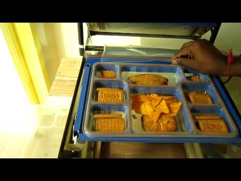 Buy Meal Tray Sealing Wrapping Machines  By Packpoint