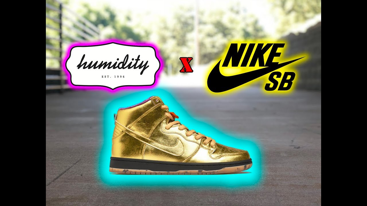 quality design 99089 2e8de Nike SB Gold Dunk High