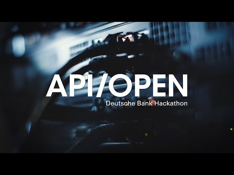 1st API/Open Deutsche Bank Hackathon 2016