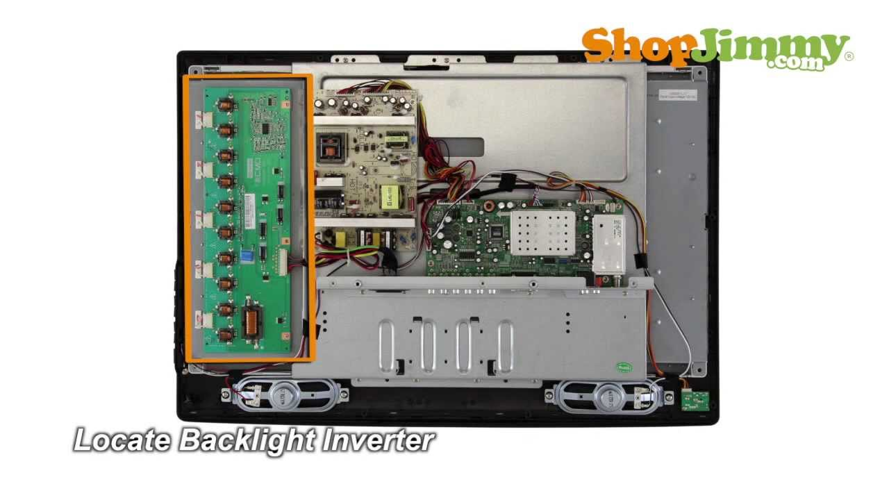 CMO VIT7006350 Backlight Inverter Boards Replacement Guide for LCD TV Repair  YouTube