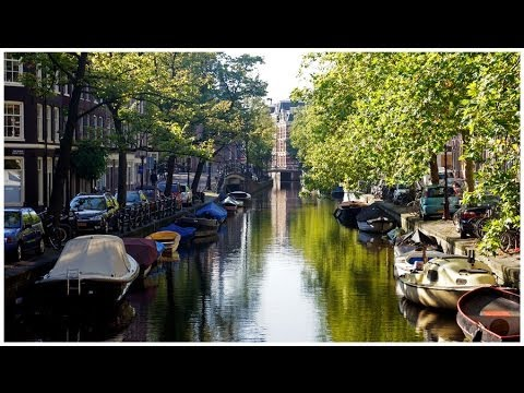 Walking downtown Amsterdam