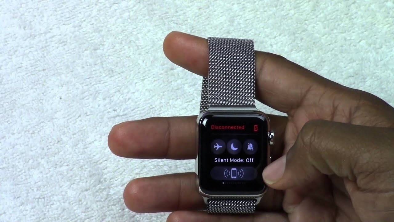 Apple Watch - Turning the Sound On, Off, and to Vibrate | H2TechVideos