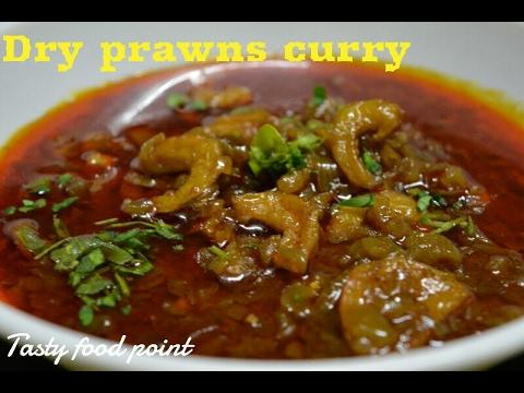 Prawns Masala Curry | How To Make Dry Prawns Curry | Zinga Fry | Kolambi Masala