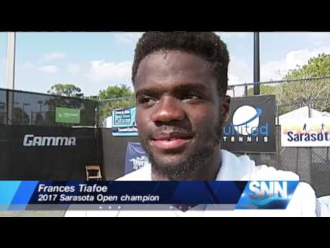 SNN:Frances Tiafoe Wins Sarasota Open in Straight Sets