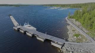 Ристикент, Верхнетуломское водохранилище
