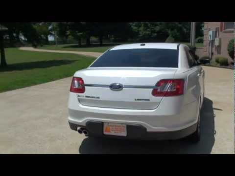2010 FORD TAURUS LIMITED WHITE PLATINUM FOR SALE SEE WWW.SUNSETMILAN.COM.MPG