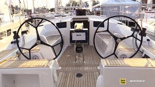 2015 Hanse 385 Sailing Yacht - Deck and Interior Walkaround - 2015 Annapolis Sail Boat Show