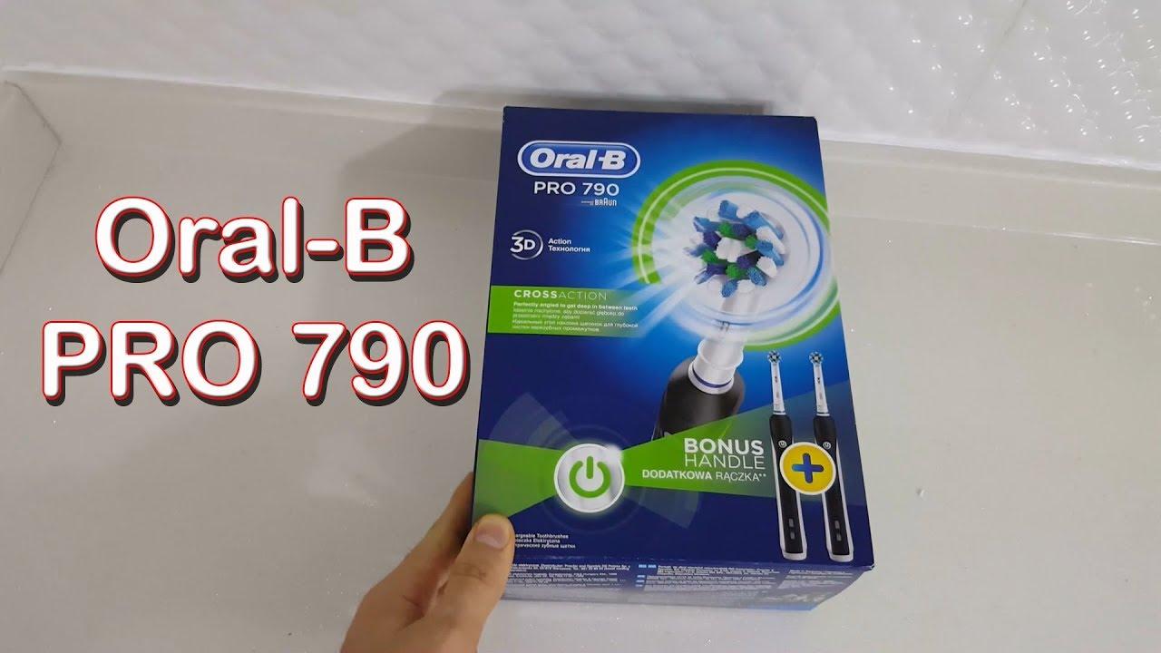 Oral B Pro 790 Şarjlı Diş Fırçası İnceleme (Braun) - YouTube 0008a4163204f