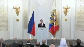 Д.Медведев.Послание Федеральному Собранию.30.11.10.Part 1