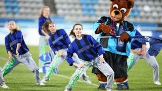 Медведь Яша и группа поддержки Lucky Star