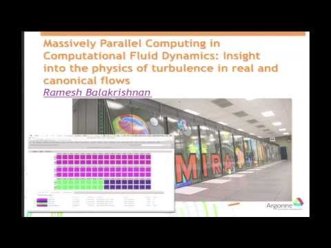 Massively Parallel Computing in CFD: Insight into the Physics of Turbulence