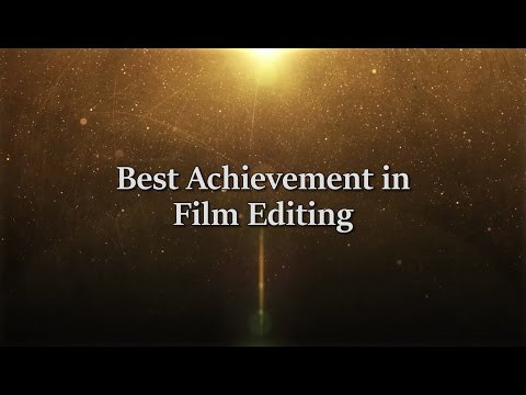 6th TFO Awards: Best Achievement in Film Editing