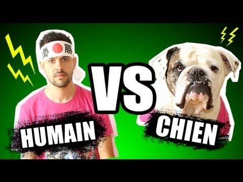 Humain vs Chien - les étranges expériences - YouTube