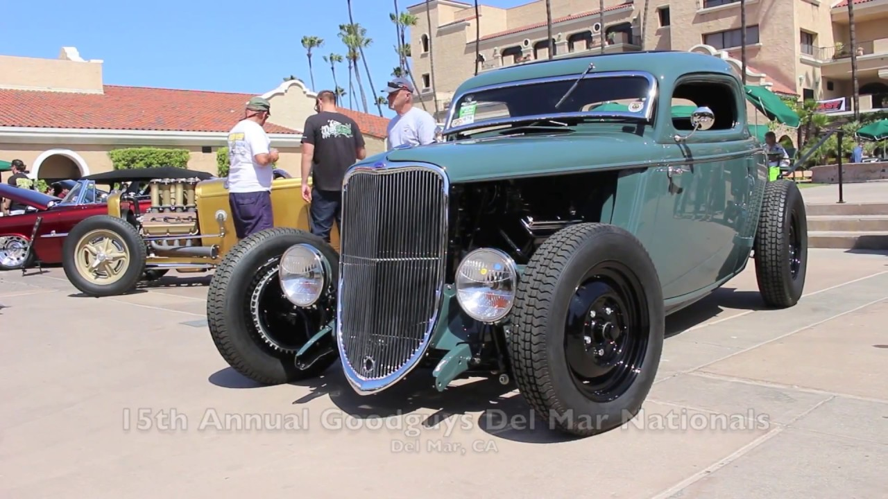 15th annual goodguys del mar nationals classic car show 2015 by california car cover youtube. Black Bedroom Furniture Sets. Home Design Ideas