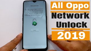 How To Network /Country Unlock Oppo F11/F11 Pro/A1k  Tvibrant HD